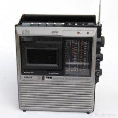 Radios antiguas: RADIO CASETTE PHILIPS 070 RADIORECORDER. Lote 147339434