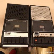 Radios antiguas: 2 CASETE, CASSETTE GRABADOR PORTATIL SANYO M 2511E + OTRO SANYO M2541, AÑOS 60/70. COMPROBADO A RED. Lote 147546178