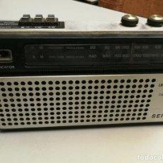 Radios antiguas: ANTIGUO RADIO TRANSISTOR SEIKO AC-DC FUNCIONANDO. Lote 147560546
