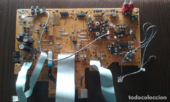 Radios antiguas: PIEZAS DE LA PLETINA PIONEER CT-W606DR (PLACA BASE, PANEL FRONTAL FUNCIONANDO) - Foto 3 - 147634670