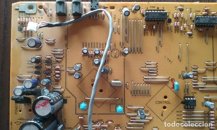Radios antiguas: PIEZAS DE LA PLETINA PIONEER CT-W606DR (PLACA BASE, PANEL FRONTAL FUNCIONANDO) - Foto 5 - 147634670