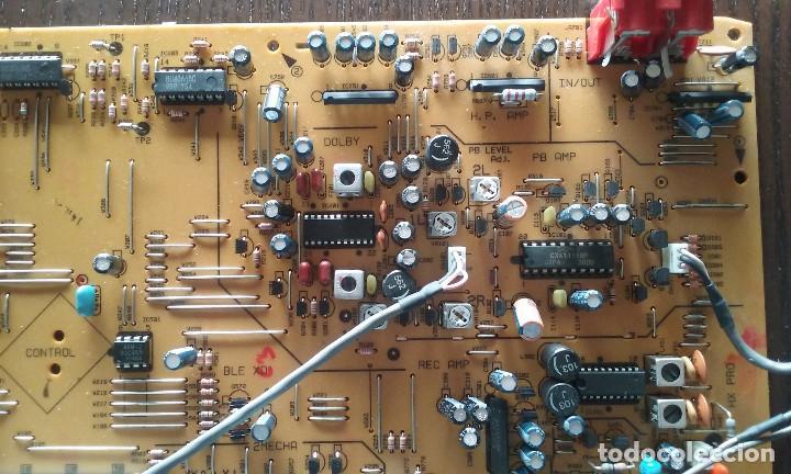 Radios antiguas: PIEZAS DE LA PLETINA PIONEER CT-W606DR (PLACA BASE, PANEL FRONTAL FUNCIONANDO) - Foto 6 - 147634670