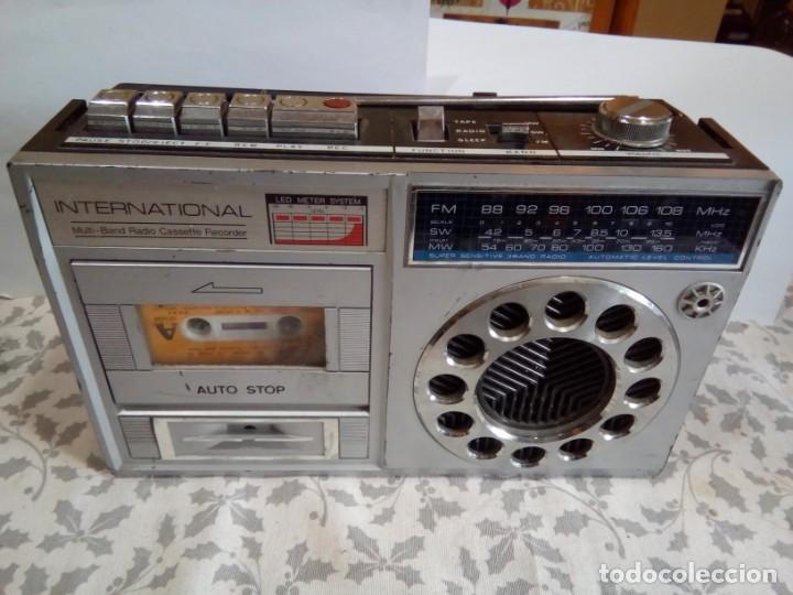 Radios antiguas: RADIOCASSETTE INTERNACIONAL AÑOS 80 - Foto 2 - 147686602