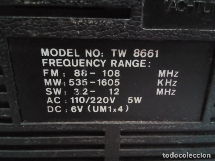 Radios antiguas: RADIOCASSETTE INTERNACIONAL AÑOS 80 - Foto 4 - 147686602