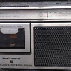 Radios antiguas: NATIONAL PANASONIC. VETERANO RADIO CASSETTE GRABADORA.. Lote 147716630