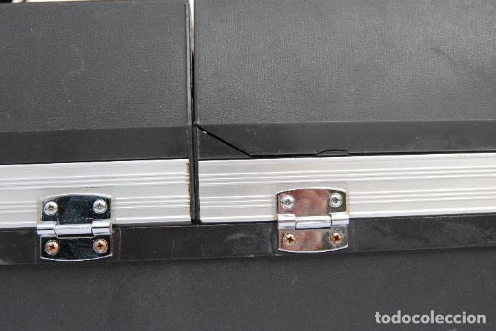 Radios antiguas: TOCADISCOS AIWA MALETA COLOR NEGRO P-184 STEREO - Foto 11 - 147892486