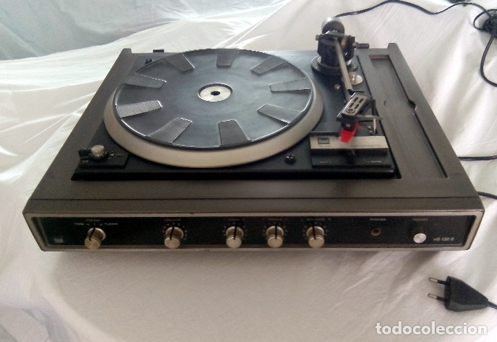 Radios antiguas: TOCADISCOS DUAL AUTOMATIC 1234 HS 123S - Foto 2 - 107362275