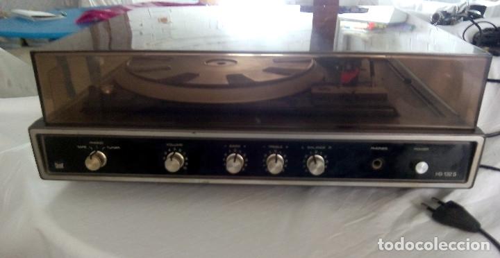Radios antiguas: TOCADISCOS DUAL AUTOMATIC 1234 HS 123S - Foto 3 - 107362275