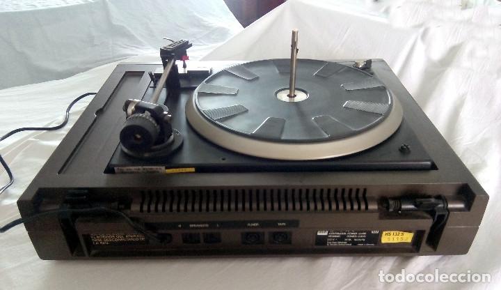 Radios antiguas: TOCADISCOS DUAL AUTOMATIC 1234 HS 123S - Foto 4 - 107362275