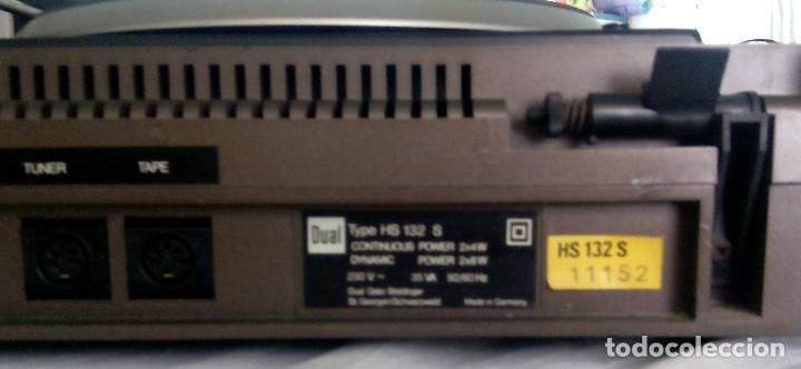 Radios antiguas: TOCADISCOS DUAL AUTOMATIC 1234 HS 123S - Foto 6 - 107362275