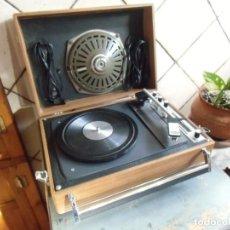 Radios antiguas: VINTAGE/RADIO-TOCADISCOS/IBERIA/MAGNIFICO ESTADO,AÑOS 50-60.. Lote 147901750