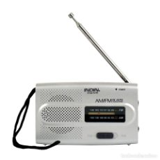 Radios antiguas: MINIRADIO INDIN AM/FM .RADIO AM FM.. Lote 148059438