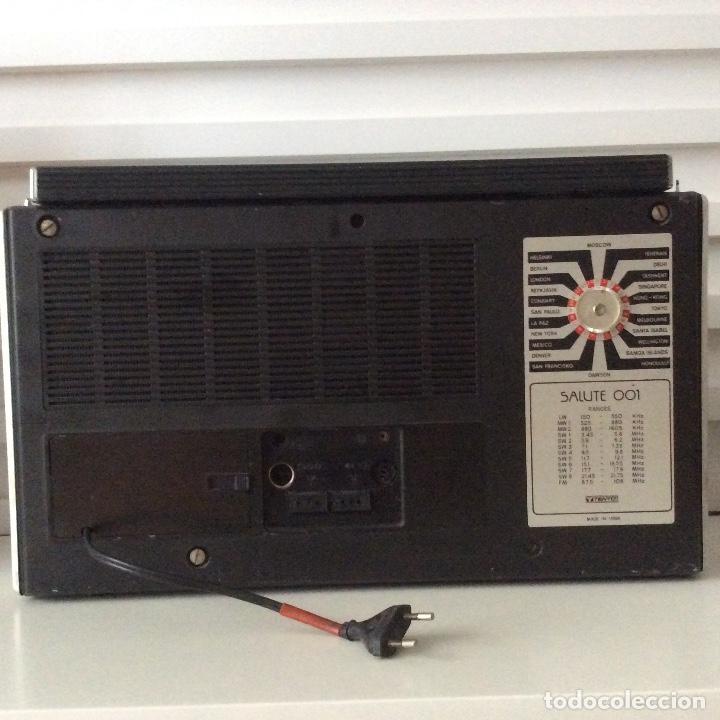 Radios antiguas: Radio Salute 001 Radioteknika Made in URSS USSR - Foto 2 - 148549822