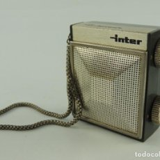 Radios antiguas: PRECIOSO MINI RADIO INTER SLIMTRANSCOLOR SLIMTRANSISTOR COLOR. Lote 148567314