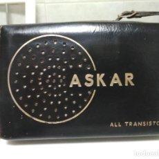 Radios antiguas: TRANSISTOR ASKAR - AE 3142 - FUNCIONA (VER VÍDEO). Lote 148679194
