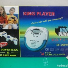 Radios antiguas: REPRODUCTOR VCD , CD , MP3 KING PLAYER EF 2001A PEPETO ELECTRONICA. Lote 149244542