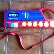 Radios antiguas: RADIO CASETE PORTATIL SONY MY FIRST SONY MODEL TCM ,4040 ,AÑOS 80. Lote 149335770