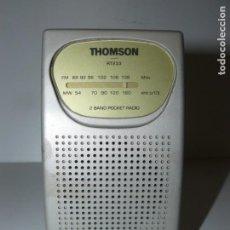 Radios antiguas: RADIO TRANSISTOR THOMSON MOD. RT233. Lote 149617886