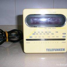 Radios antiguas: RADIO DESPERTADOR TELEFUNKEN,VINTAGE. Lote 149669054