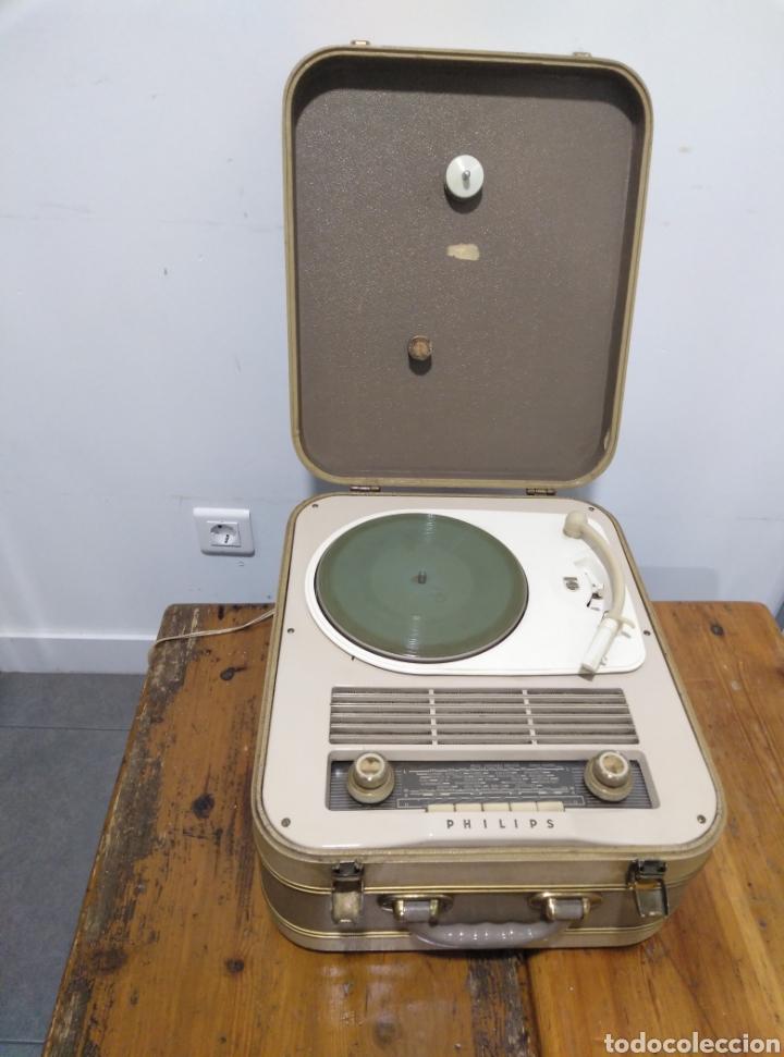 RADIO PHONE CASE PHILIPS 464 (Radios, Gramófonos, Grabadoras y Otros - Transistores, Pick-ups y Otros)