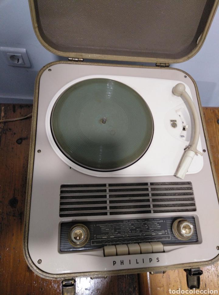 Radios antiguas: Radio phone case Philips 464 - Foto 2 - 149701005