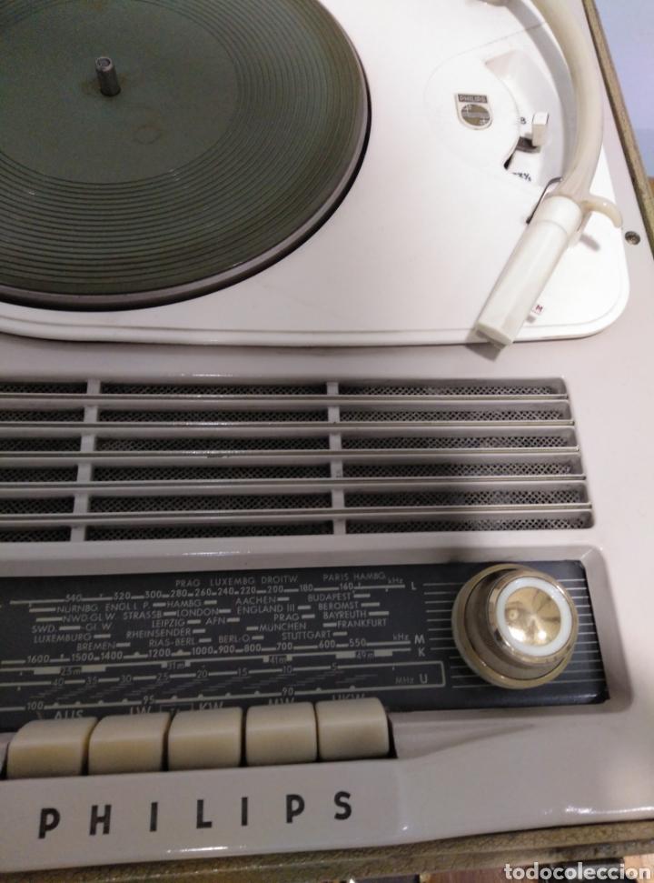 Radios antiguas: Radio phone case Philips 464 - Foto 3 - 149701005