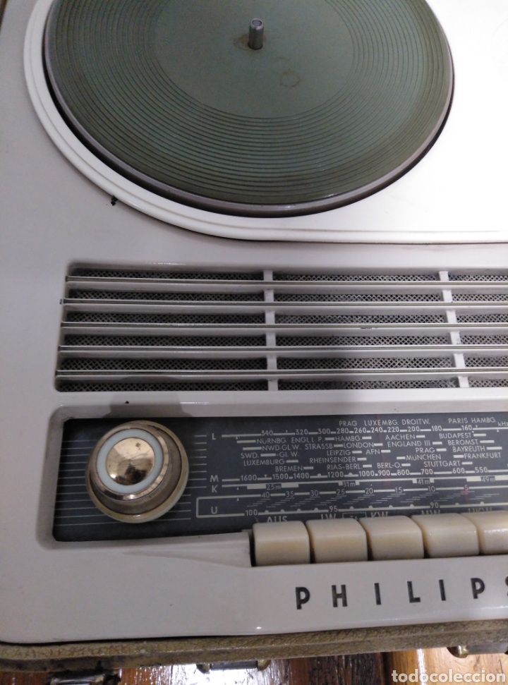 Radios antiguas: Radio phone case Philips 464 - Foto 4 - 149701005