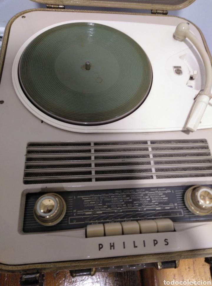 Radios antiguas: Radio phone case Philips 464 - Foto 7 - 149701005