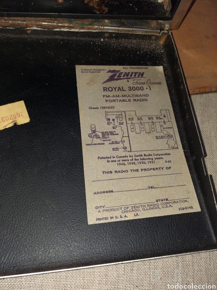 Radio zenith all transistor trans oceanic fm - - Sold at
