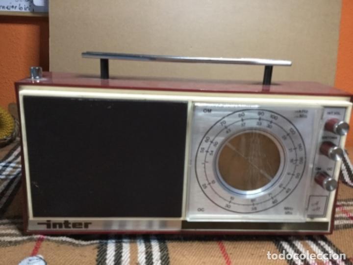 RADIO ÍNTER , MODELO NIZA (Radios, Gramófonos, Grabadoras y Otros - Transistores, Pick-ups y Otros)