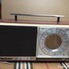 Radios antiguas: RADIO ÍNTER , MODELO NIZA. Lote 150118342