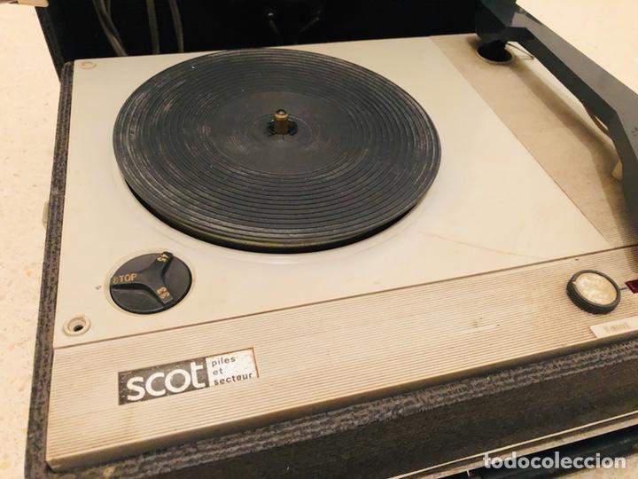 Radios antiguas: Tocadiscos portátil Scot - Foto 4 - 150166810