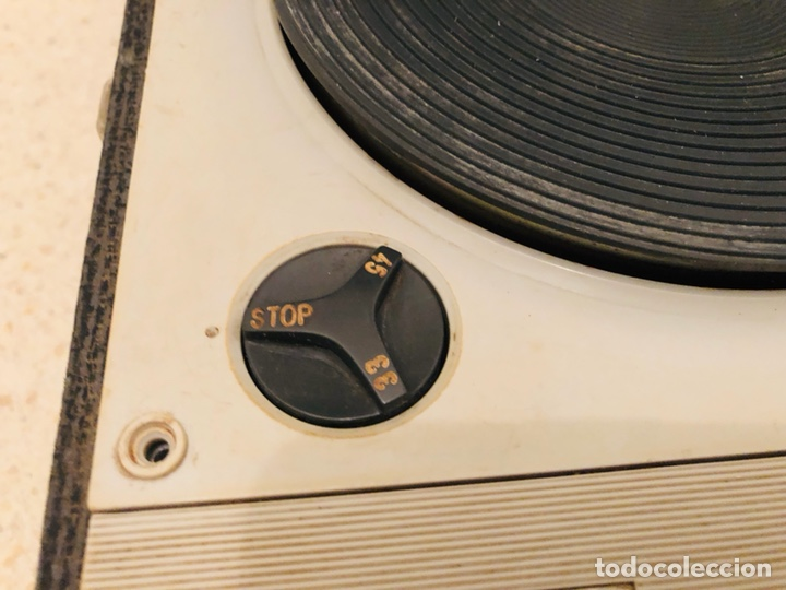 Radios antiguas: Tocadiscos portátil Scot - Foto 6 - 150166810