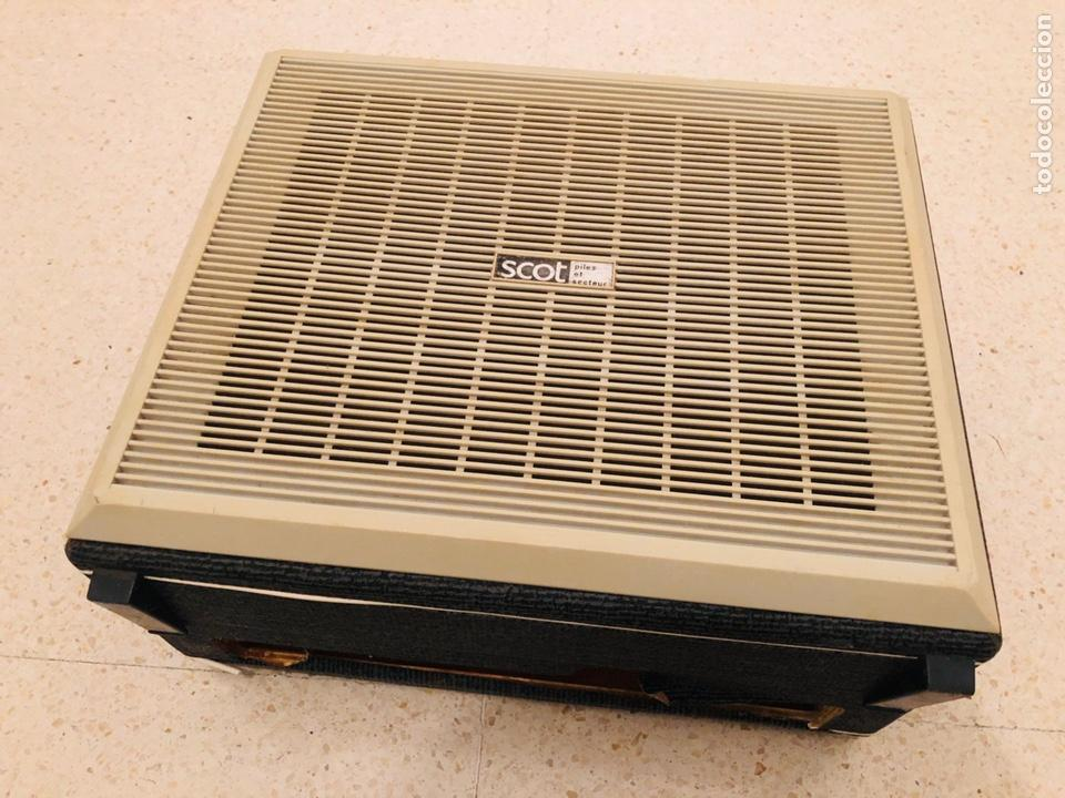Radios antiguas: Tocadiscos portátil Scot - Foto 2 - 150166810