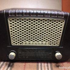 Radios antiguas: RADIO PHILIPS RECICLADA FM,USB,BLUETOOTH,MANDO A DISTANCIA . Lote 150483942