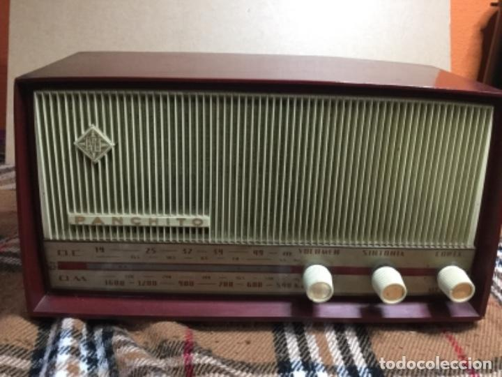 RADIO VÁLVULAS TELEFUNKEN PANCHITO RECICLADA USB ,BLUETOOTH (Radios, Gramófonos, Grabadoras y Otros - Transistores, Pick-ups y Otros)