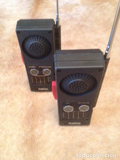 PAREJA DE WALKI TALKIE CONCEPT 2.000, ESTADO IMPECABLE, NO USO MEDIDAS 16 X 7- MODELO Nº 602 (Radios, Gramófonos, Grabadoras y Otros - Transistores, Pick-ups y Otros)
