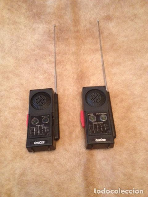 Radios antiguas: PAREJA DE WALKI TALKIE CONCEPT 2.000, ESTADO IMPECABLE, NO USO MEDIDAS 16 X 7- MODELO Nº 602 - Foto 2 - 150741010