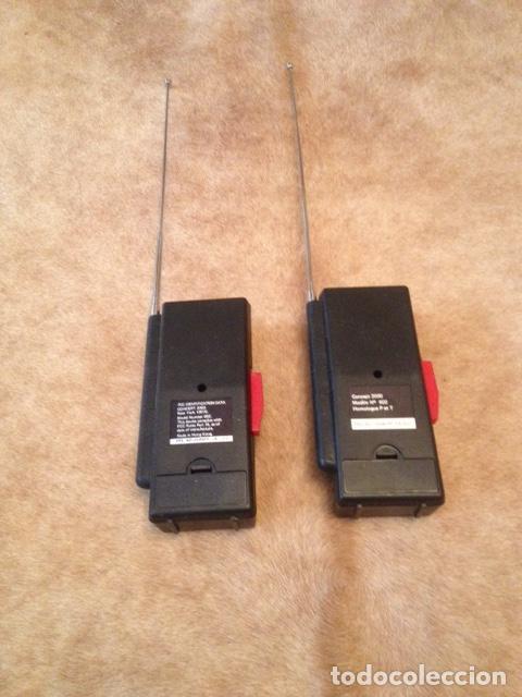 Radios antiguas: PAREJA DE WALKI TALKIE CONCEPT 2.000, ESTADO IMPECABLE, NO USO MEDIDAS 16 X 7- MODELO Nº 602 - Foto 3 - 150741010