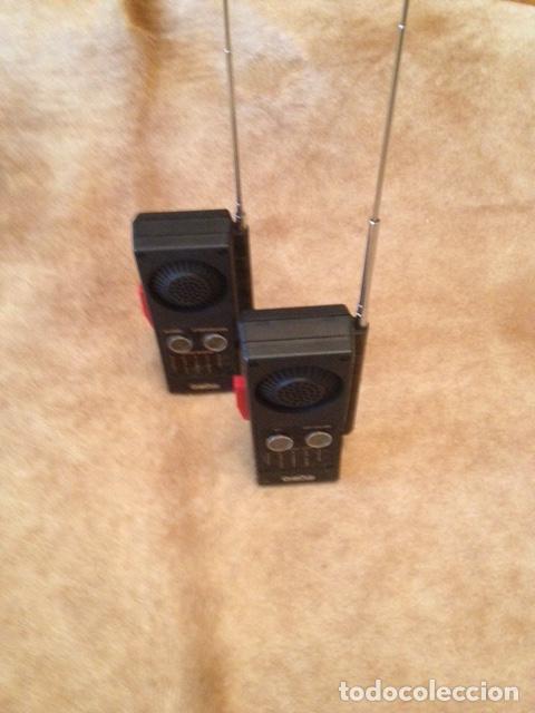 Radios antiguas: PAREJA DE WALKI TALKIE CONCEPT 2.000, ESTADO IMPECABLE, NO USO MEDIDAS 16 X 7- MODELO Nº 602 - Foto 7 - 150741010