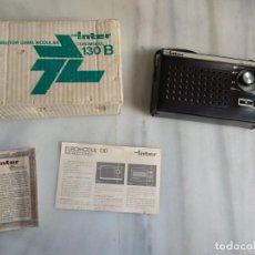 Radios antiguas: TRANSISTOR GAMA MODULAR INTER 130 B. Lote 150768294