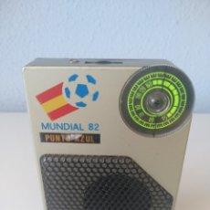 Radios antiguas: RADIO TRANSISTOR MUNDIAL 82, RARA DE COLECCIÓN. Lote 150798190