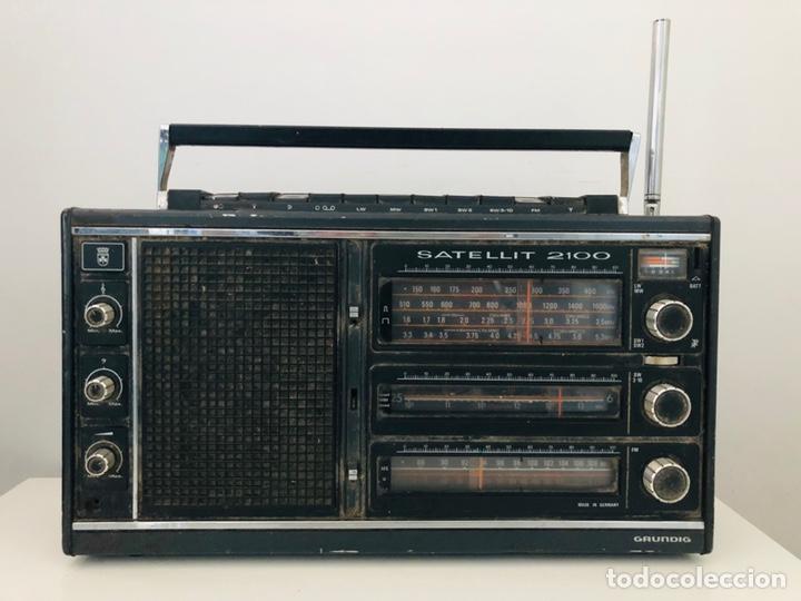 GRUNDIG SATELLIT 2100 NO FUNCIONA (Radios, Gramófonos, Grabadoras y Otros - Transistores, Pick-ups y Otros)
