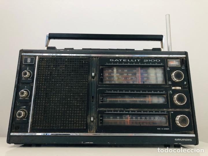 Radios antiguas: Grundig Satellit 2100 No funciona - Foto 2 - 150860298