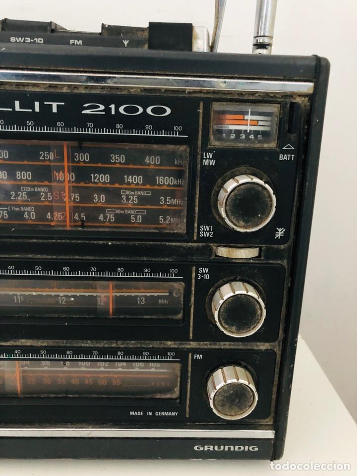 Radios antiguas: Grundig Satellit 2100 No funciona - Foto 6 - 150860298