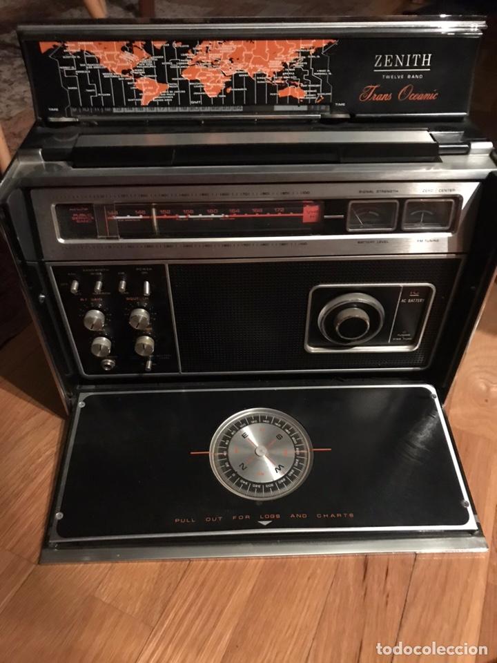 ANTIGUA RADIO TRANSOCEÁNICA (Radios, Gramófonos, Grabadoras y Otros - Transistores, Pick-ups y Otros)