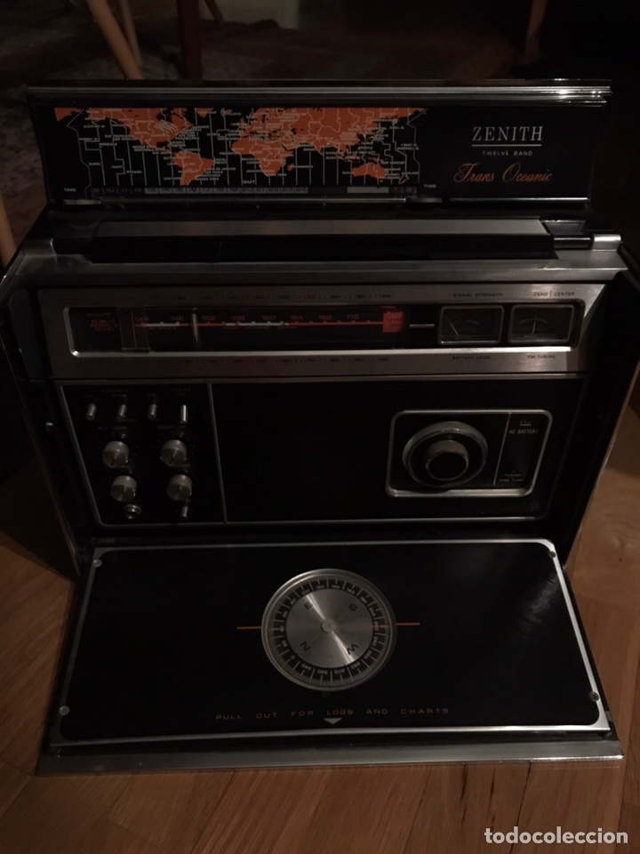 Radios antiguas: Antigua radio transoceánica - Foto 2 - 150861676