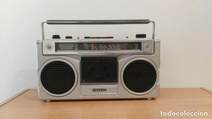 RADIO CASSETTE SANYO M-9901K (Radios, Gramophones, Recorders and Others - Transistor Radios, Pick-ups and Others)