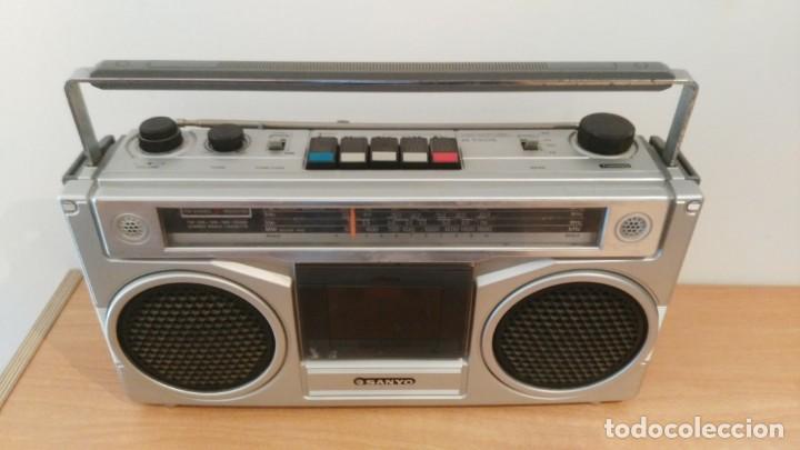 Old radios: RADIO CASSETTE SANYO M-9901K - Foto 2 - 150888810