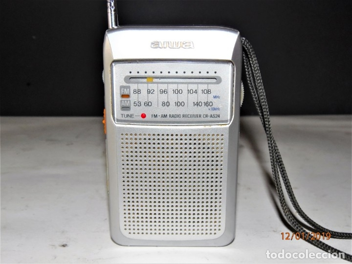 Radios antiguas: RADIO AIWA CR-AS24 10 € - Foto 1 - 146663898